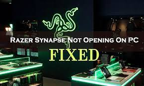 Razer Synapse Failed To Start