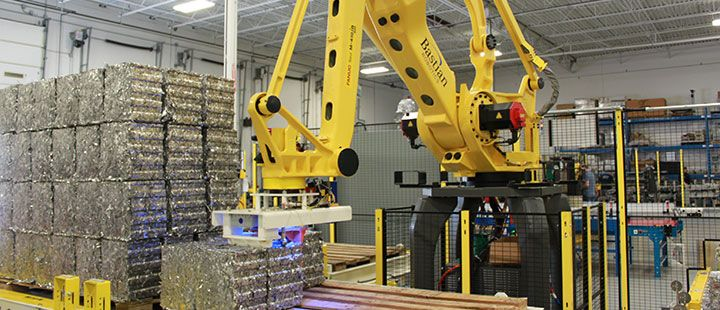 Well Educated Robotic Palletizer