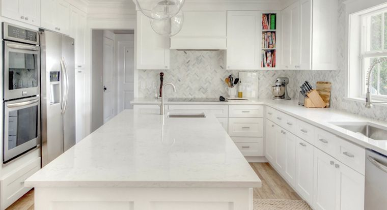 Why We Use a White Marble Countertops